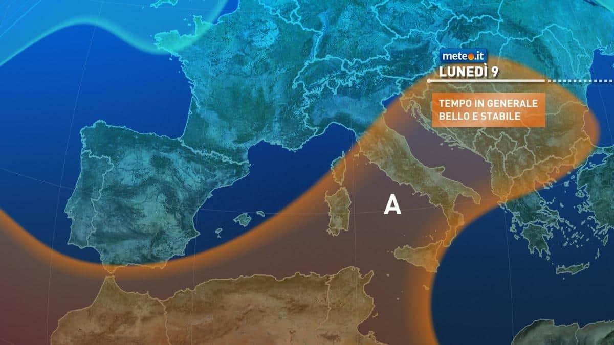Meteo, oggi 8 novembre qualche nuvola in più sull'Italia ma senza piogge