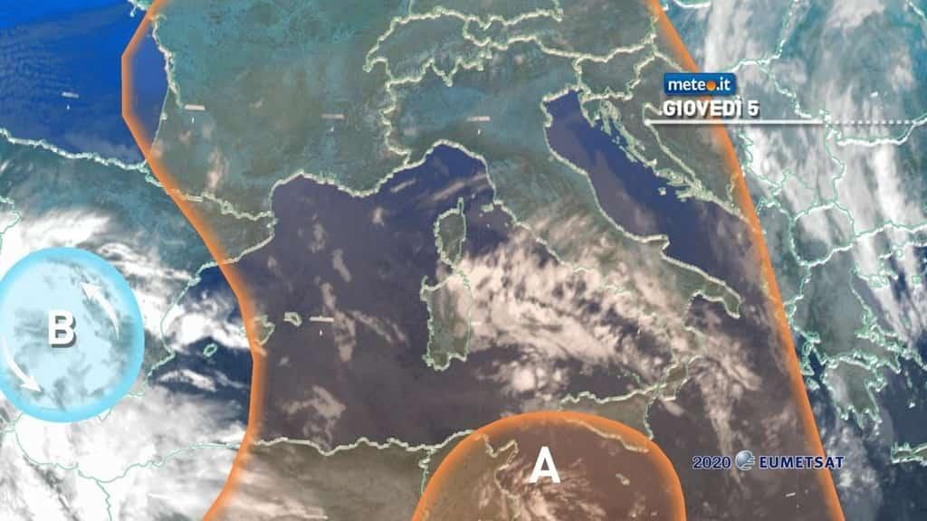 Meteo, da oggi 5 novembre alta pressione protagonista: non mancheranno però nuvole e qualche nebbia