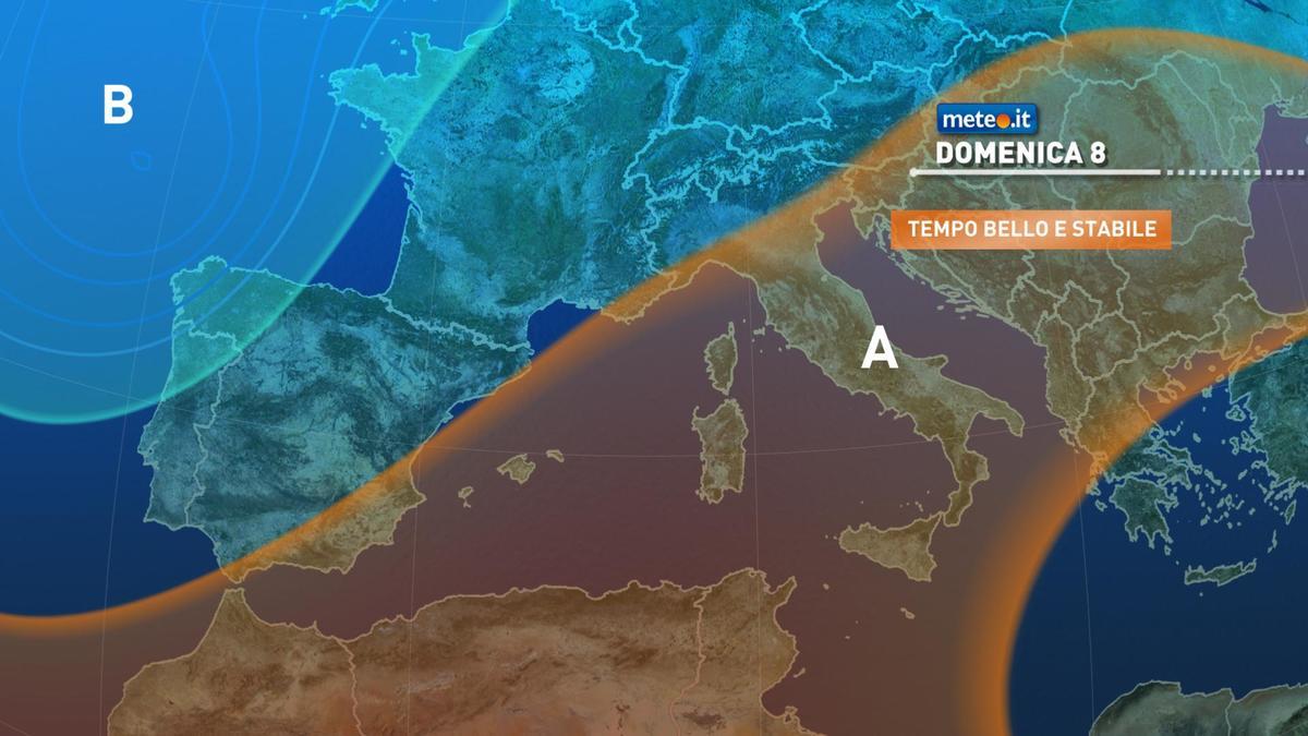 Meteo, in questo weekend del 7-8 novembre, l'alta pressione non mollerà la presa