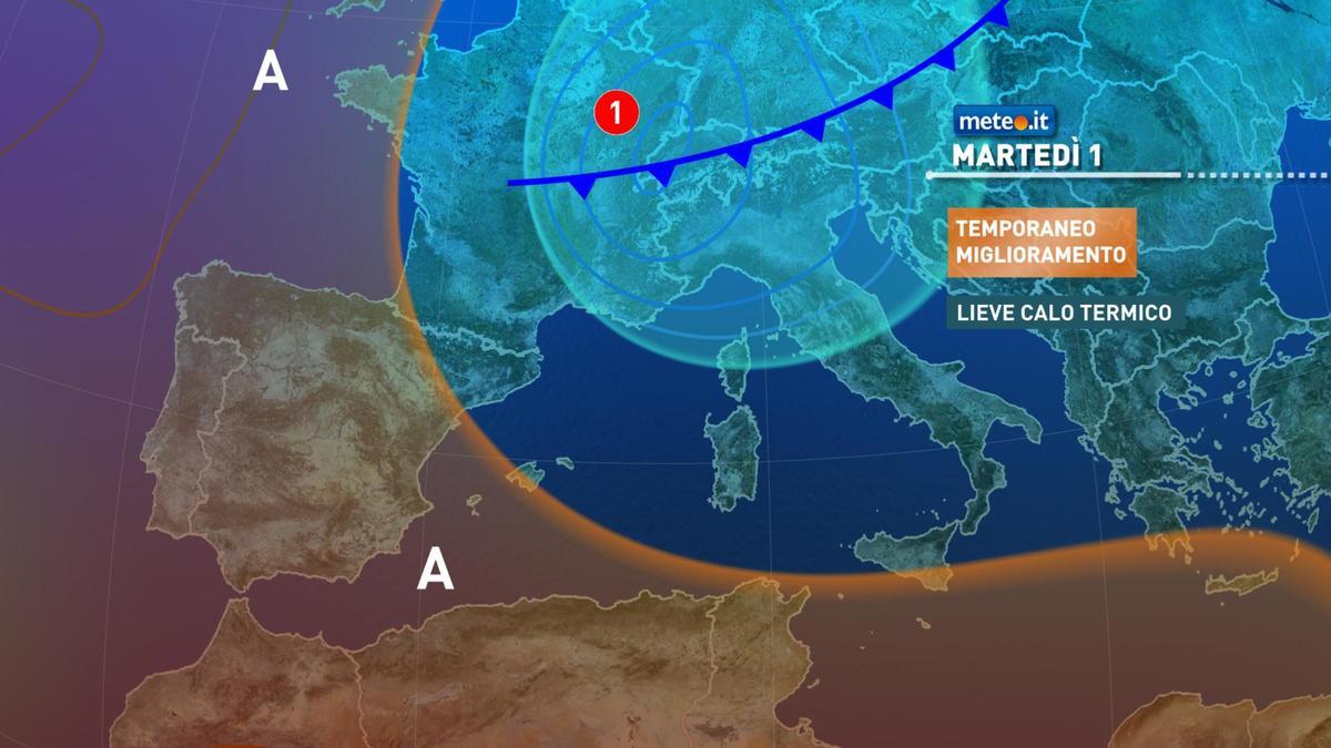 Meteo, 1 dicembre con tempo stabile, a fine giornata brusco cambiamento