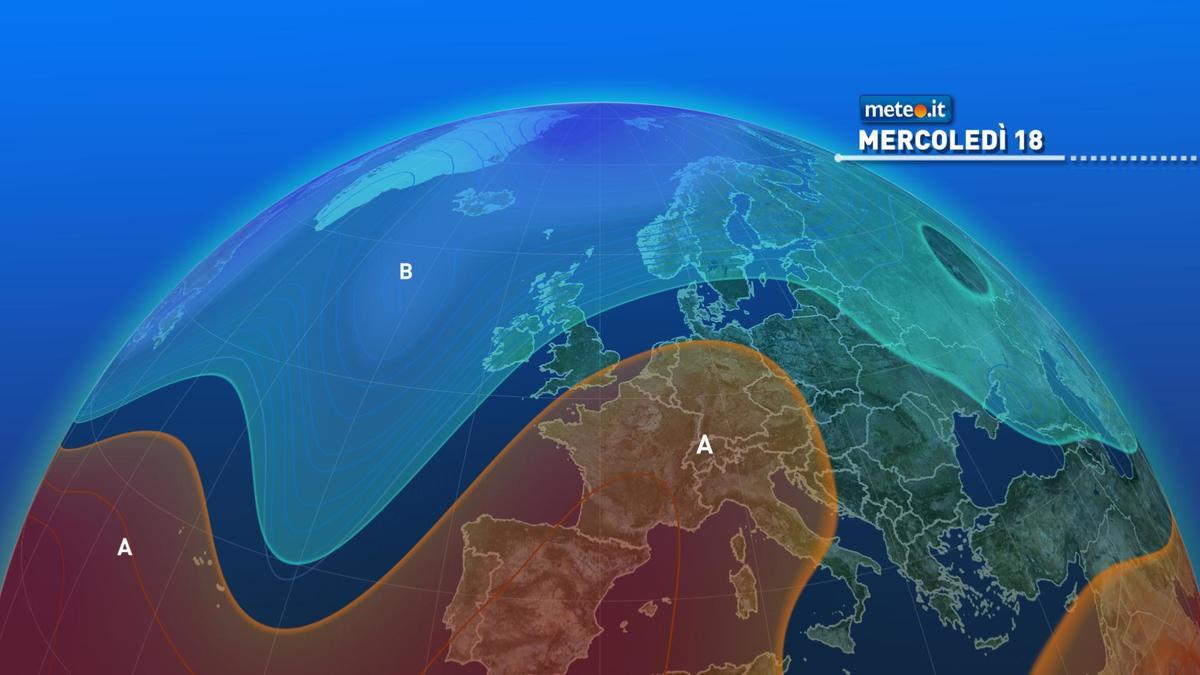 Meteo, tra mercoledì 18 e giovedì 19 novembre stabile al Centro-nord e rischio pioggia al Sud