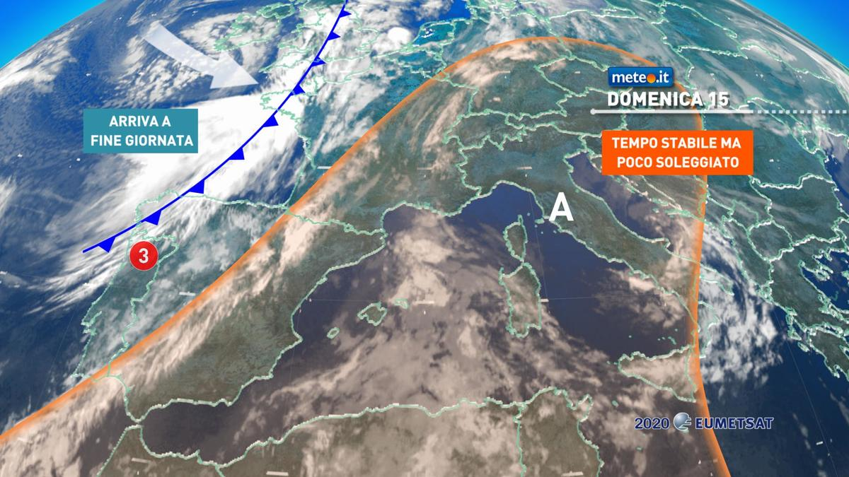 Meteo, da stasera torna la pioggia a partire dal Nord. Lunedì 16 novembre maltempo