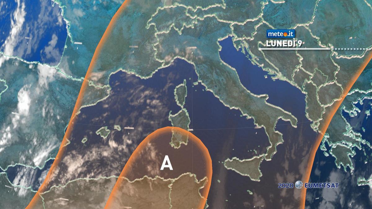 Meteo, lunedì 9 novembre Italia dominata dall'alta pressione