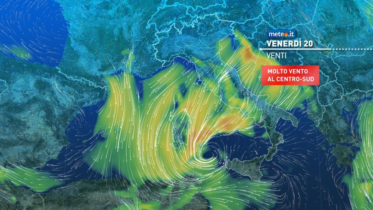 Meteo, tra oggi e il weekend del 21-22 novembre maltempo con aria fredda e forti venti