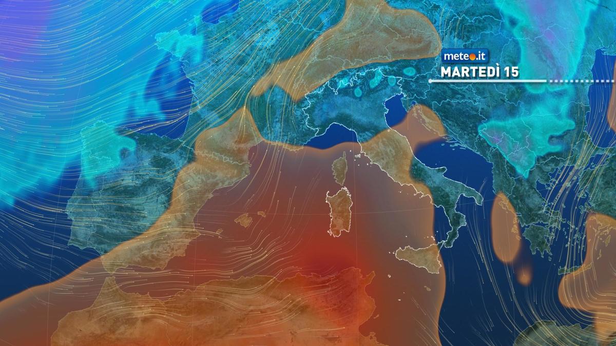 Meteo, deboli piogge in arrivo tra martedì 15 e mercoledì 16 dicembre