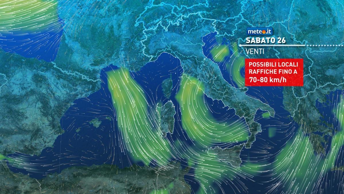 Meteo, da Santo Stefano venti freddi e rischio neve a quote basse al Nord