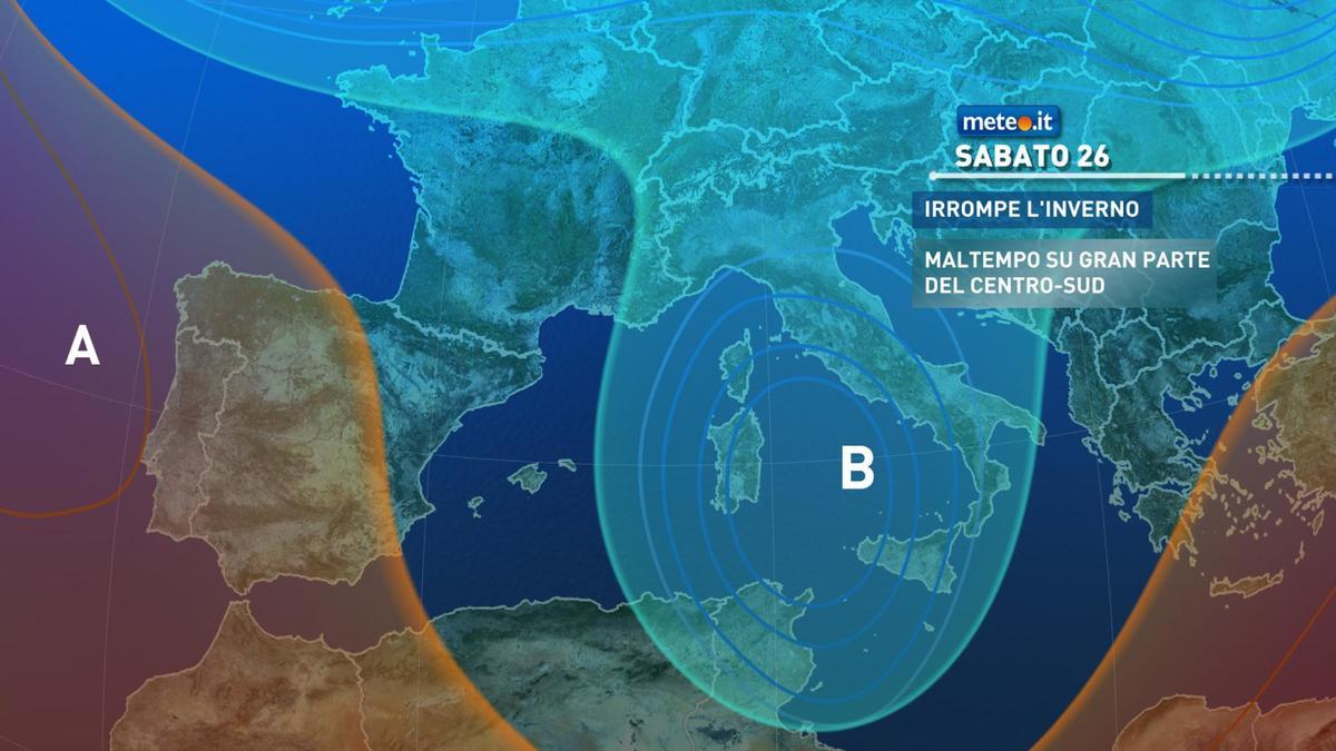 Meteo, Santo Stefano con il sole al Nord, piogge e neve al Centro-Sud