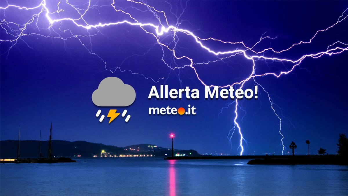 Allerta meteo arancione a Napoli e in Campania per domani, domenica 6 dicembre 2020