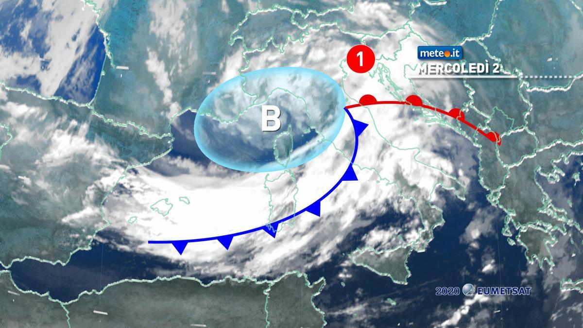 Meteo, mercoledì 2 dicembre zampata in avanti dell'inverno