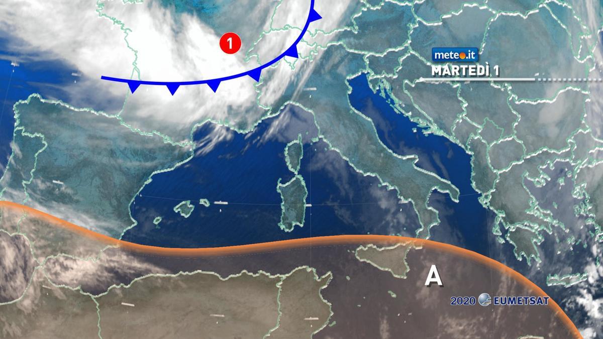 Meteo 1 dicembre, in arrivo maltempo e crollo termico: rischio neve anche in pianura