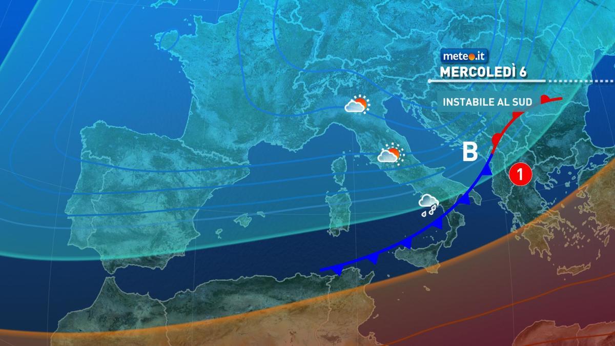Meteo, Epifania di pioggia per molte regioni