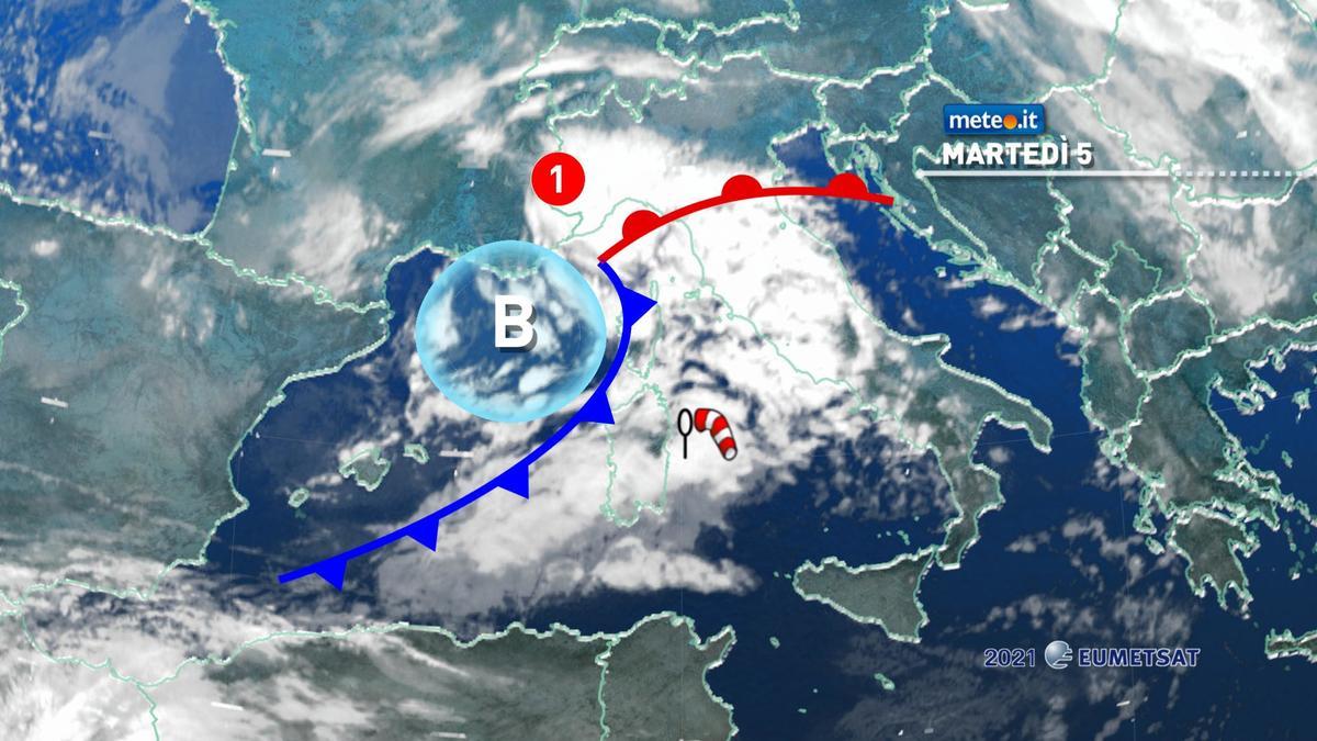 Meteo, 5 gennaio di maltempo: rischio di piogge intense