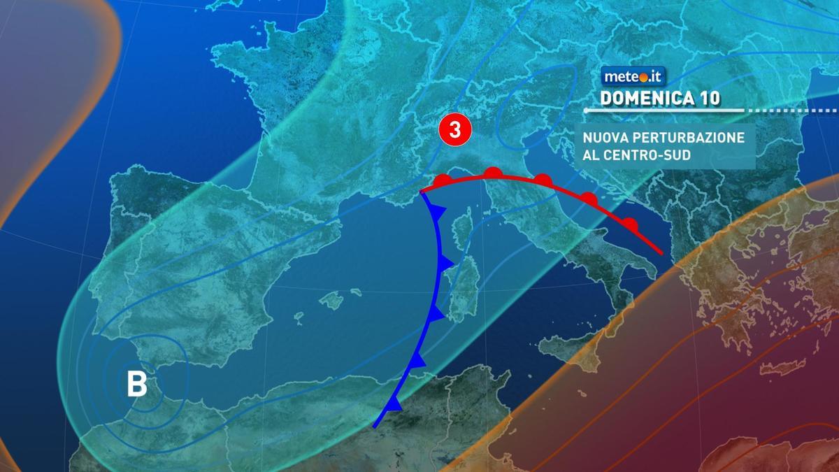 Meteo, domenica 10 gennaio Italia divisa in due: freddo al Nord, picchi oltre i 20 gradi al Sud