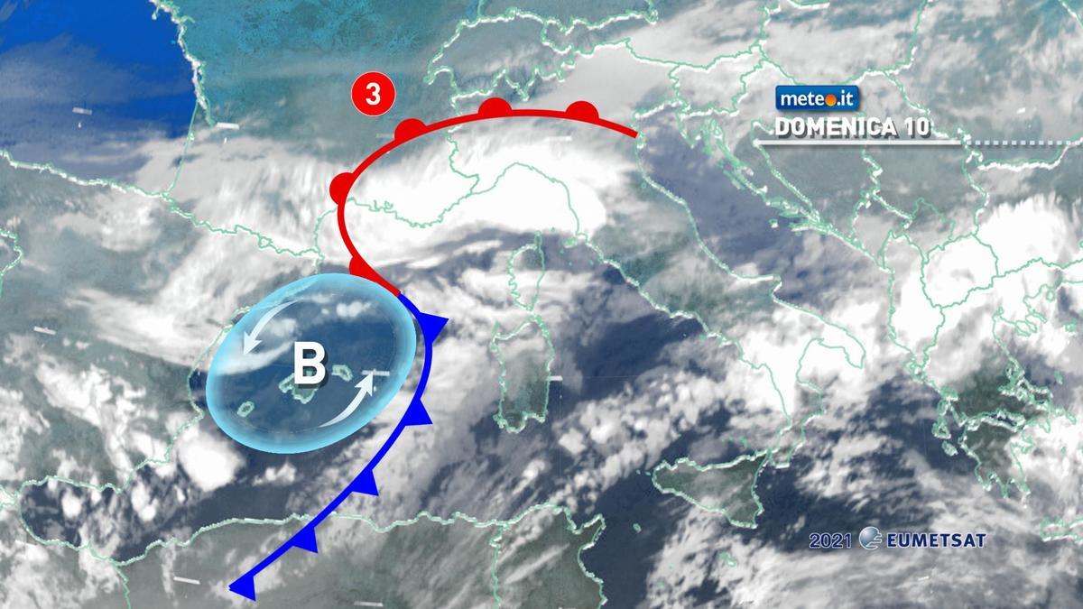 Meteo, 10 gennaio di maltempo per molte regioni