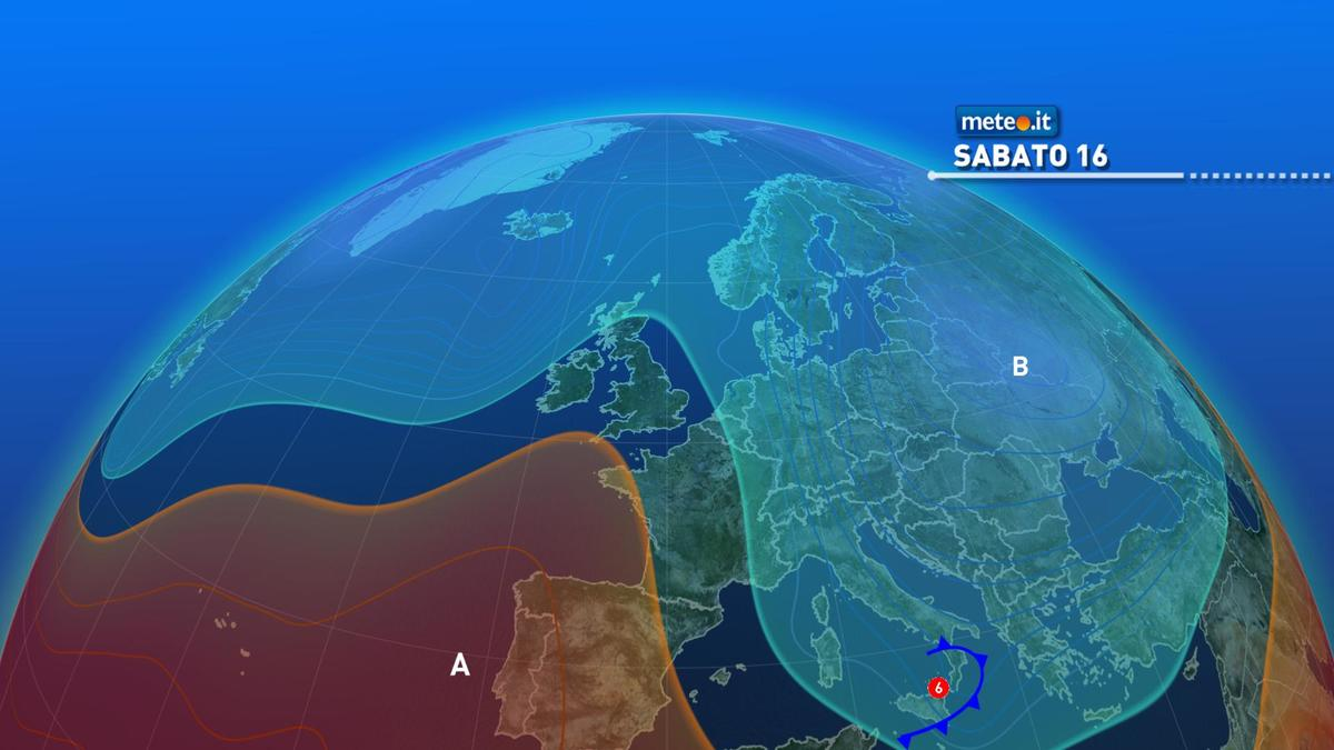 Meteo, tra il 15 gennaio e il weekend freddo e gelo sull'Italia