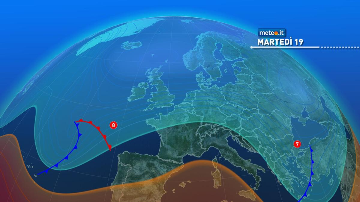 Meteo, martedì 19 gennaio tempo stabile sull'Italia