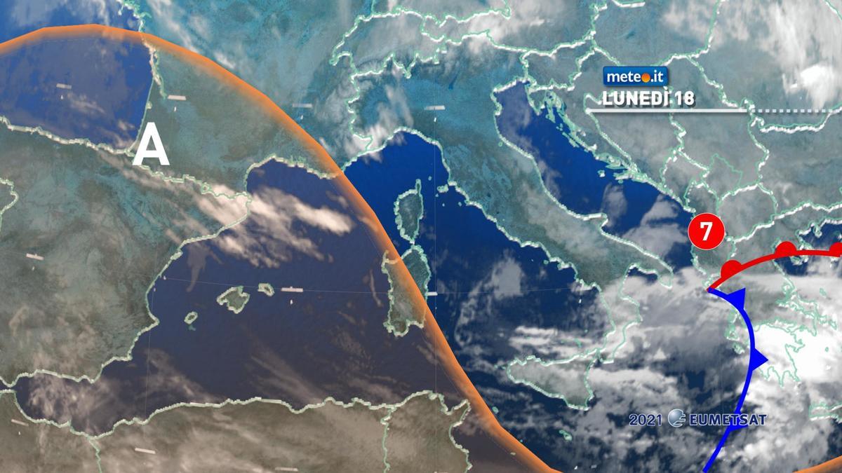 Meteo, 19 gennaio alta pressione in rinforzo e clima freddo