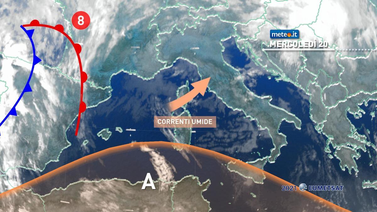Meteo, 20 gennaio con nuvole in aumento poi peggiora