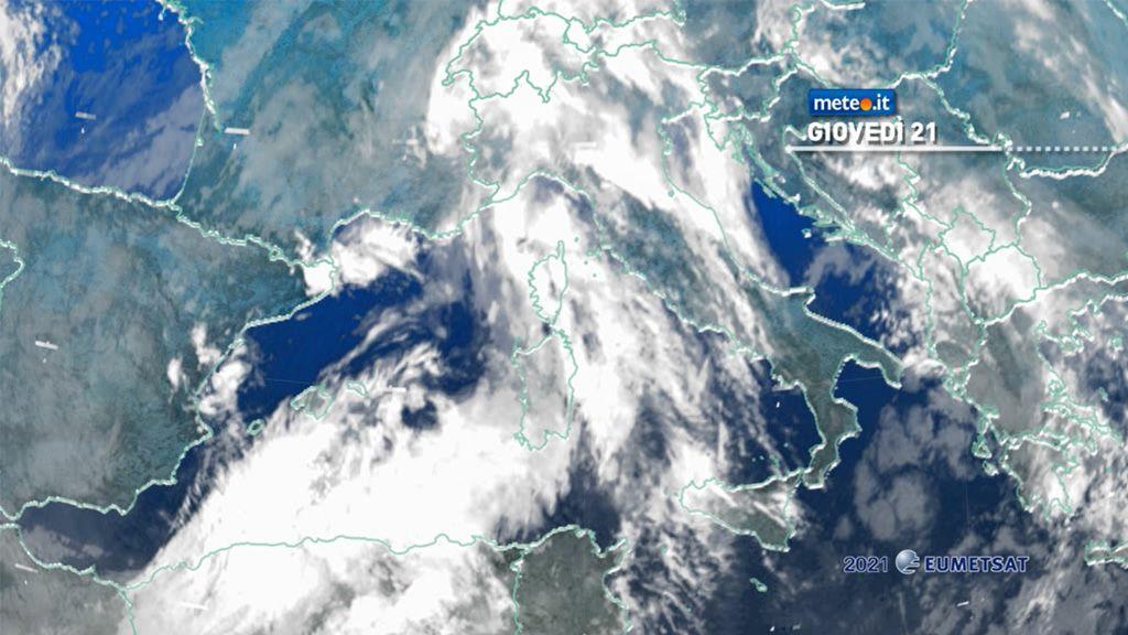 Meteo, 21 gennaio di maltempo: le zone coinvolte
