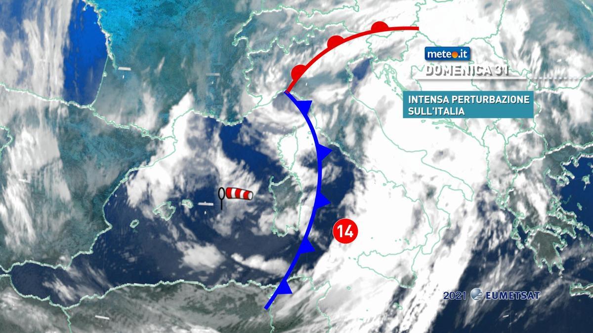 Meteo, 31 gennaio segnato dal maltempo: le zone coinvolte