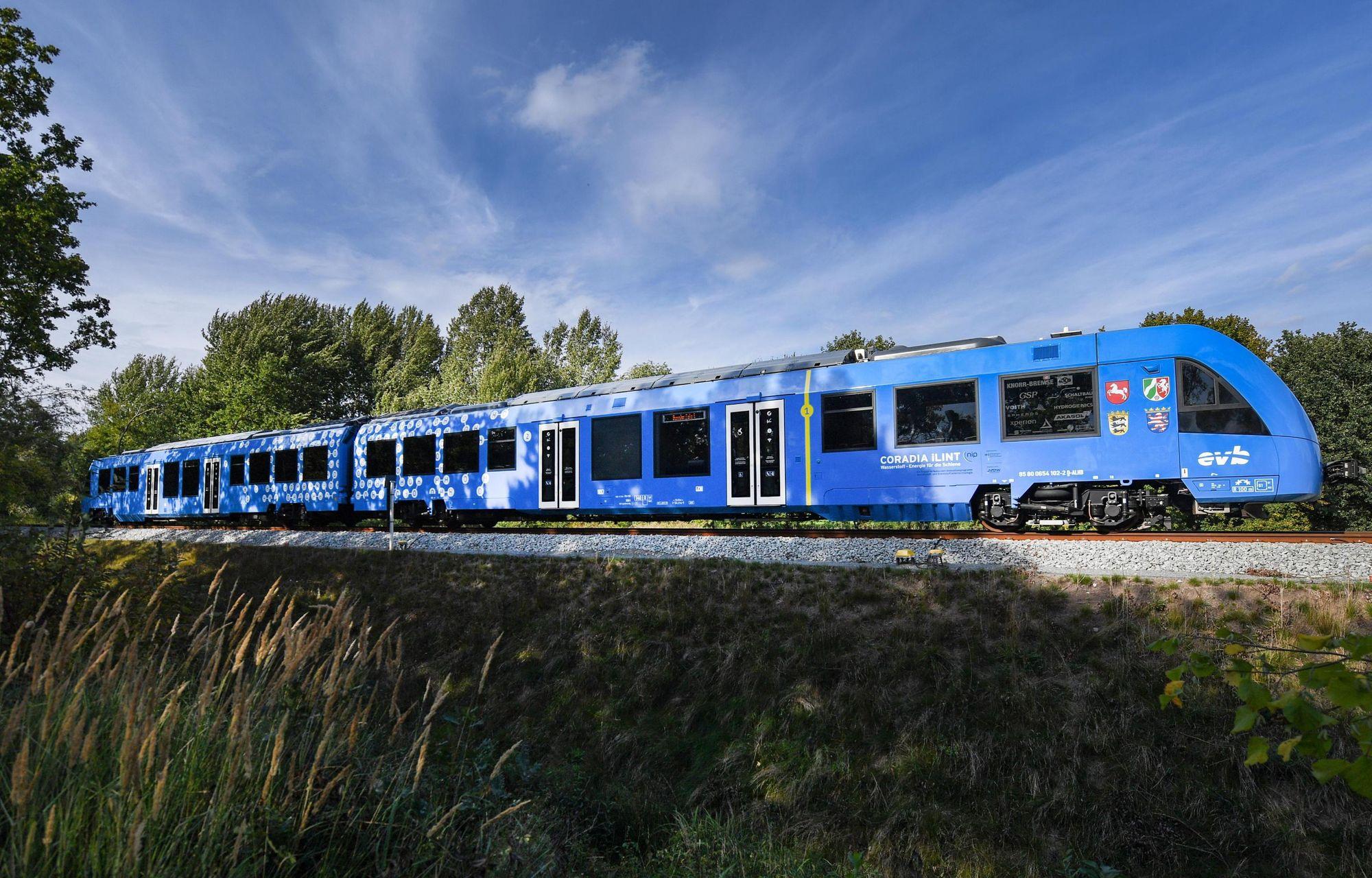 I primi treni a idrogeno potrebbero arrivare in Italia nel 2023