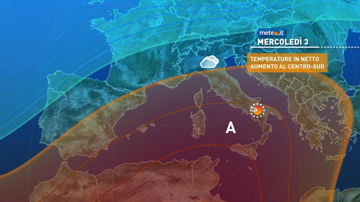 Meteo, assaggio di primavera dal 3 febbraio: clima mite soprattutto al Centro-Sud