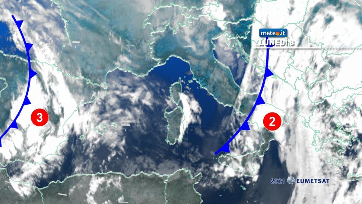 Meteo, 8 febbraio con piogge residue ma il maltempo proseguirà