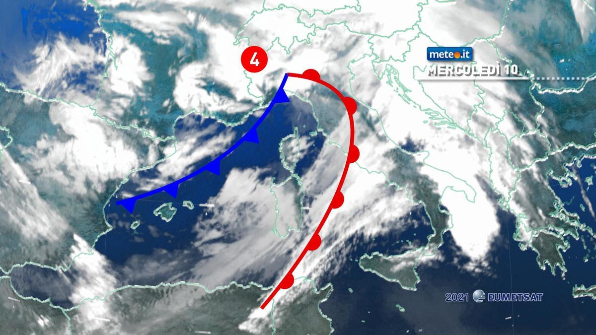 Meteo, forte maltempo in atto poi dal 12 febbraio ondata di gelo