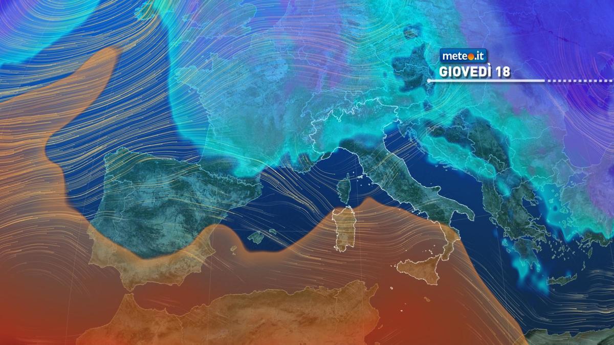 Meteo: alta pressione in rinforzo nei prossimi giorni, ma dal 18 febbraio transiterà una debole perturbazione