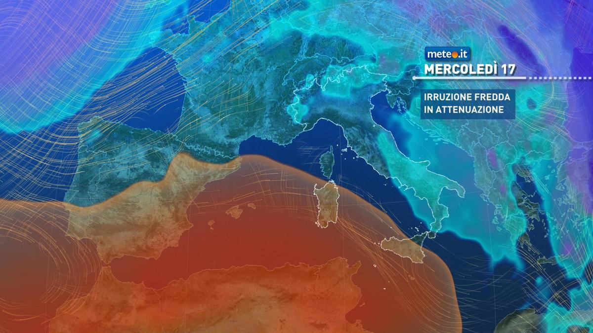 Meteo, da mercoledì 17 febbraio sensibile aumento delle temperature