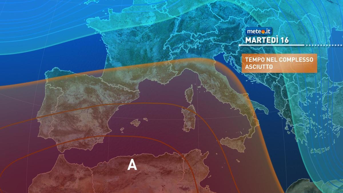 Meteo 16 febbraio: tempo in miglioramento, inizia ad attenuarsi il freddo