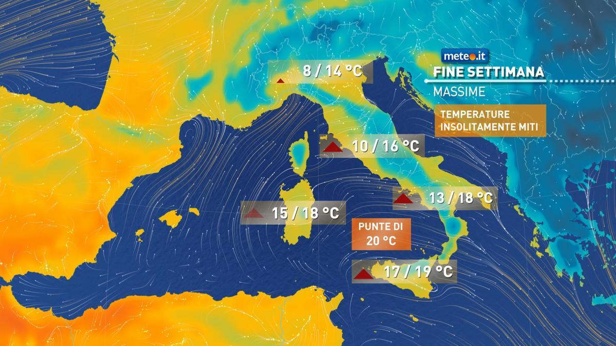 Meteo, 17 febbraio con freddo in attenuazione: temperature di nuovo nella norma