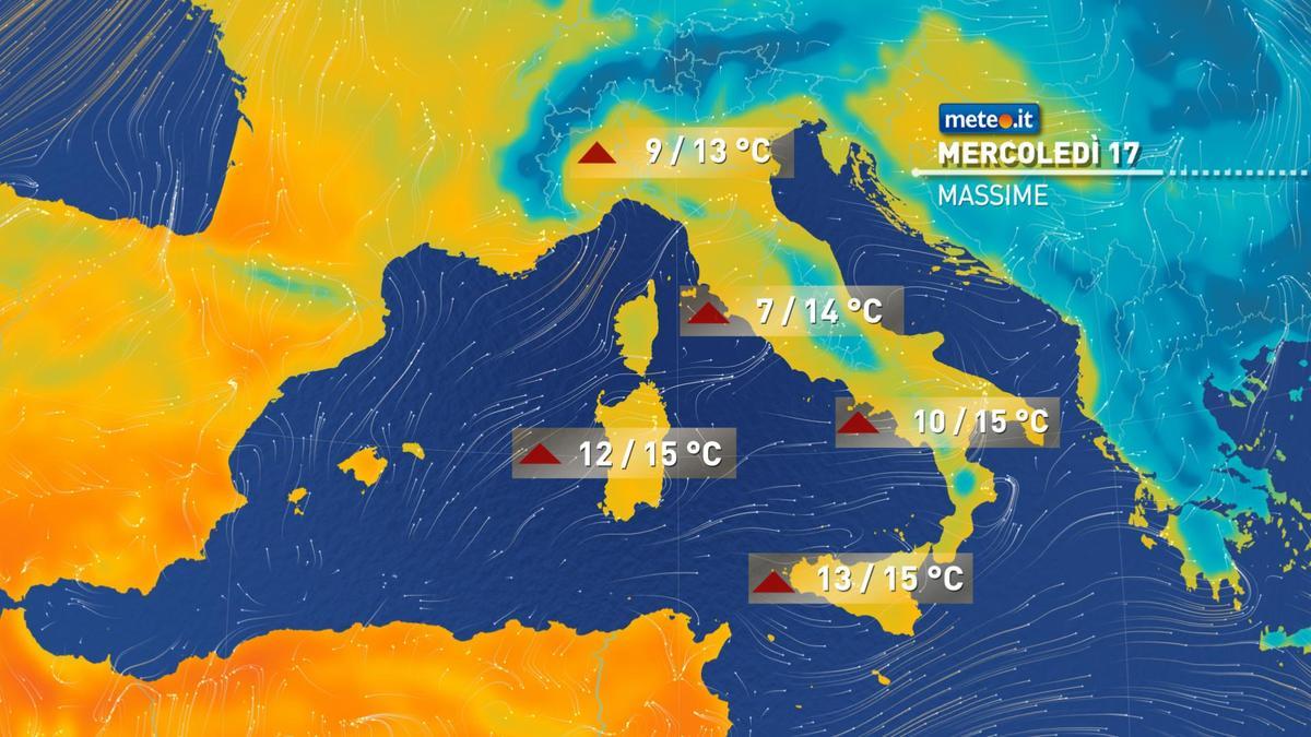 Meteo, gelo addio: dal 17 febbraio temperature nella norma