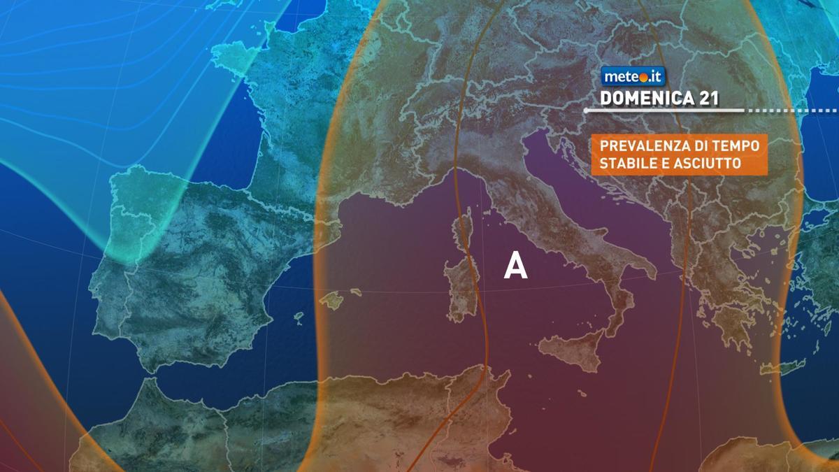 Meteo, weekend del 20-21 febbraio con tempo stabile sull'Italia