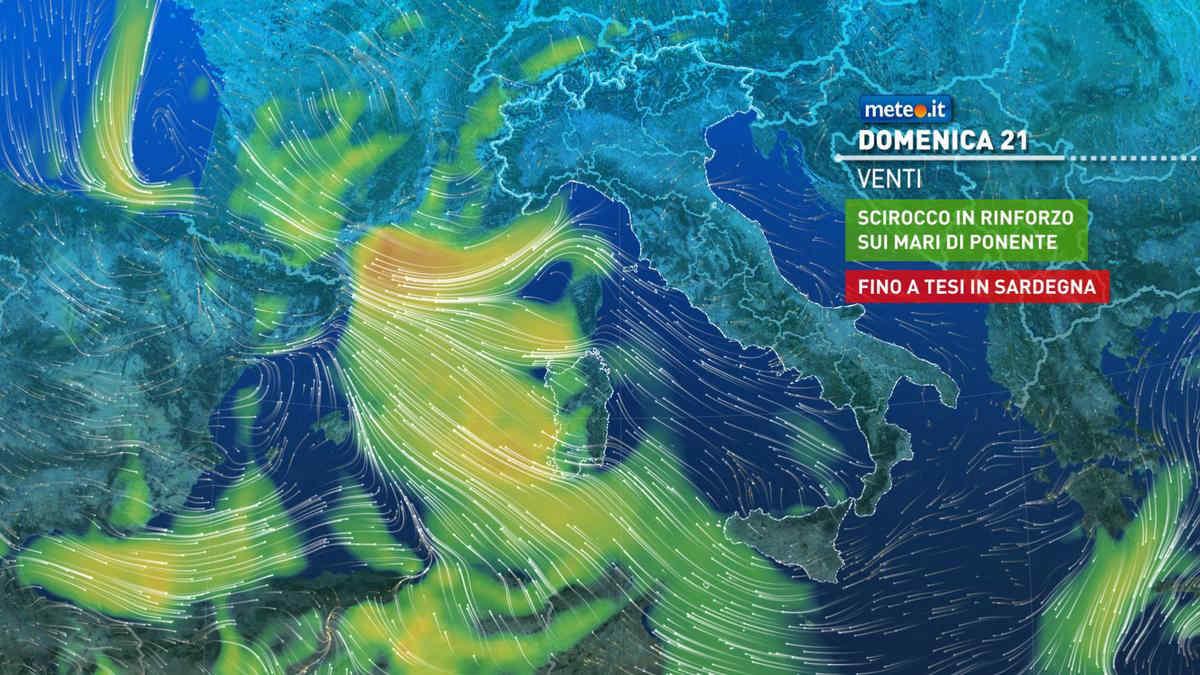 Meteo, oggi domenica 21 febbraio, alta pressione. Tempo stabile e clima mite