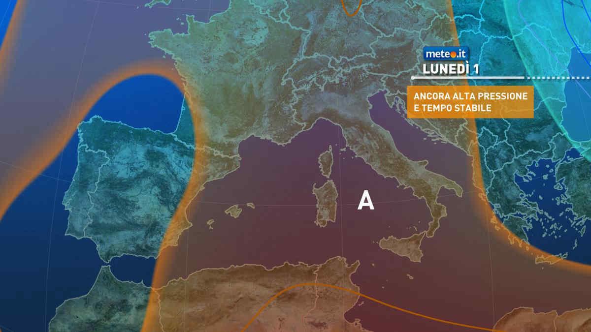 Meteo, 1 marzo con tempo stabile e soleggiato sull'Italia
