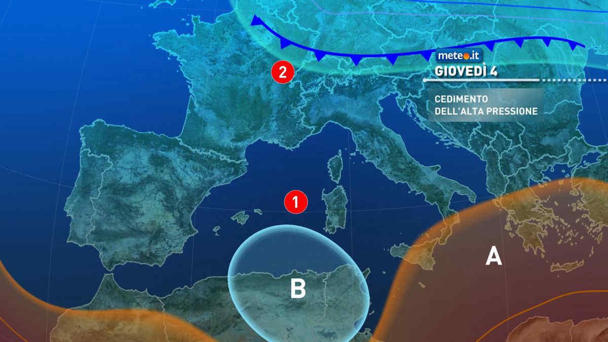 Meteo 3 marzo: oggi sole e clima mite, cambiamenti in vista da domani