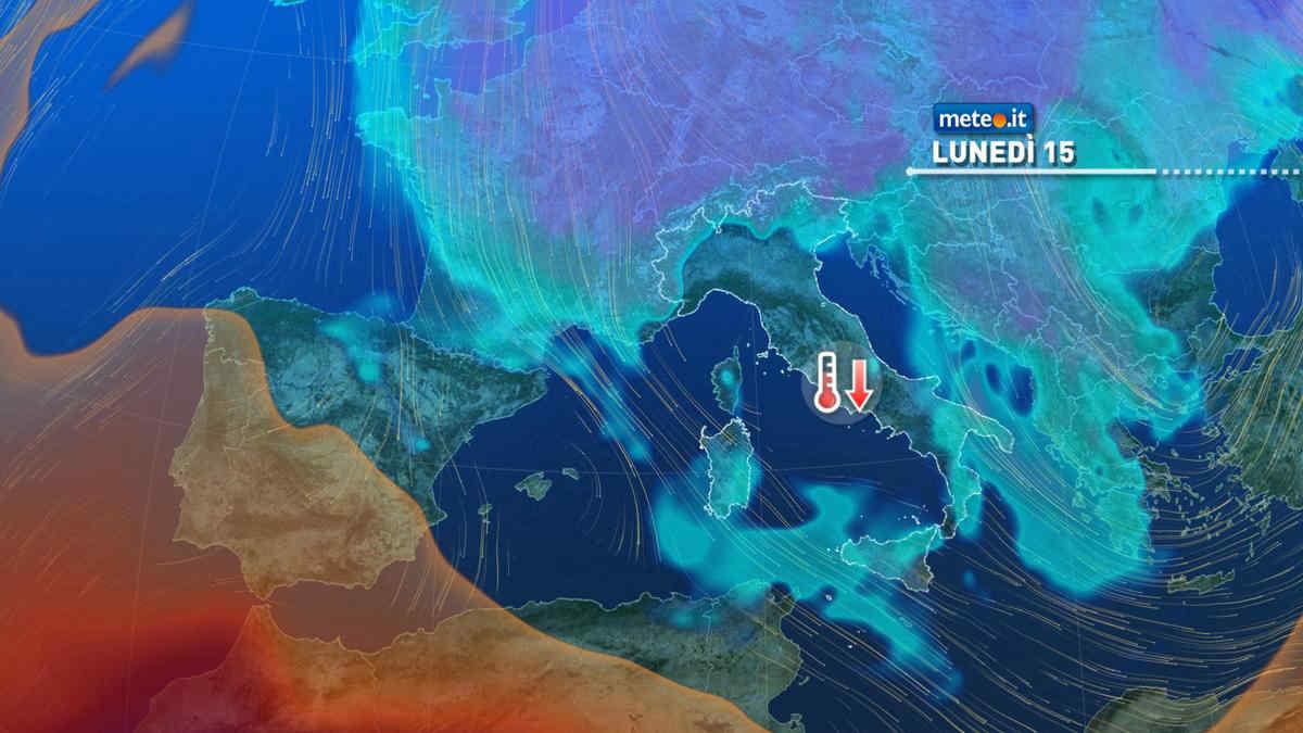 Meteo, domenica 14 marzo nuova perturbazione seguita da afflusso di aria più fredda