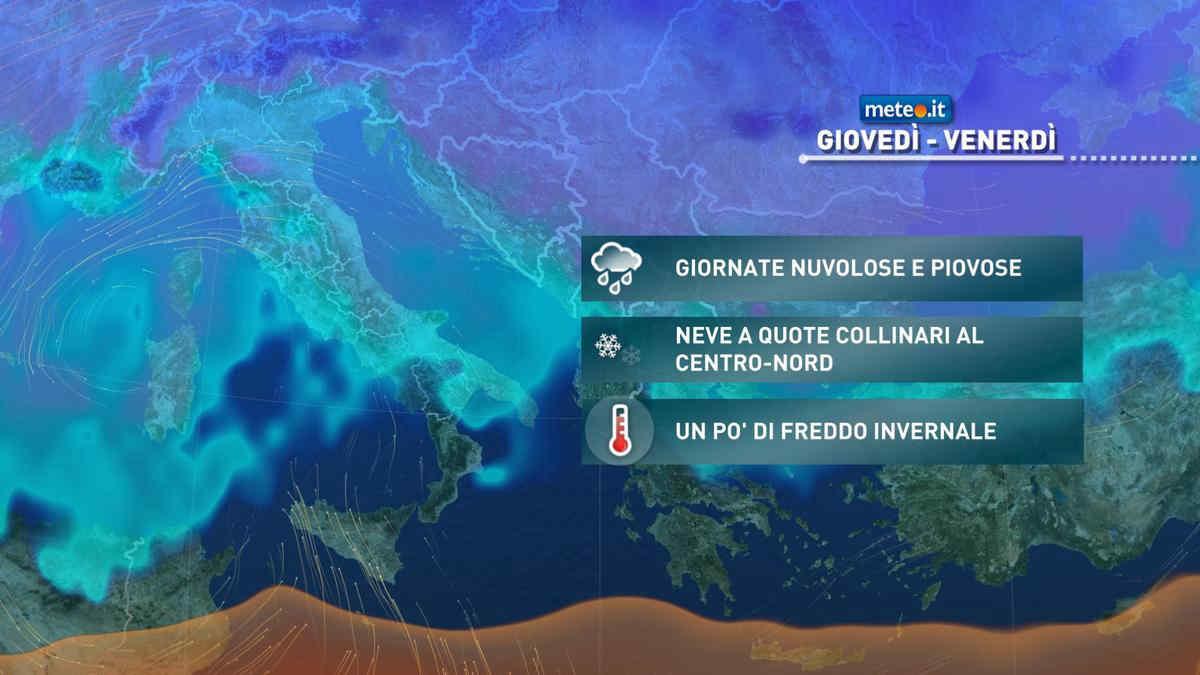 Meteo Barletta: bel tempo mercoledì, molte nubi giovedì, qualche possibile rovescio venerdì