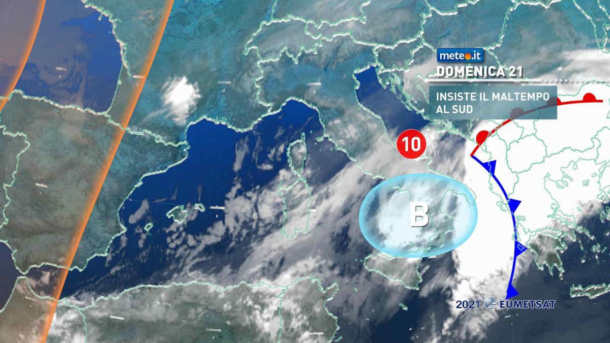 Meteo, 21 marzo con freddo invernale sull'Italia
