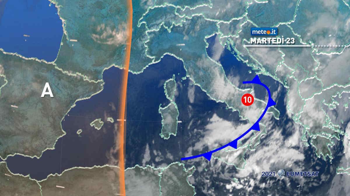 Meteo 23 marzo: fase invernale agli sgoccioli