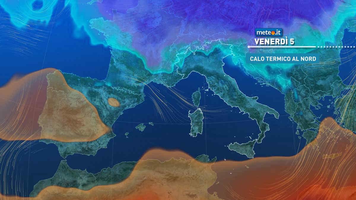 Meteo, tempo in peggioramento dal 5 marzo: in arrivo anche aria fredda