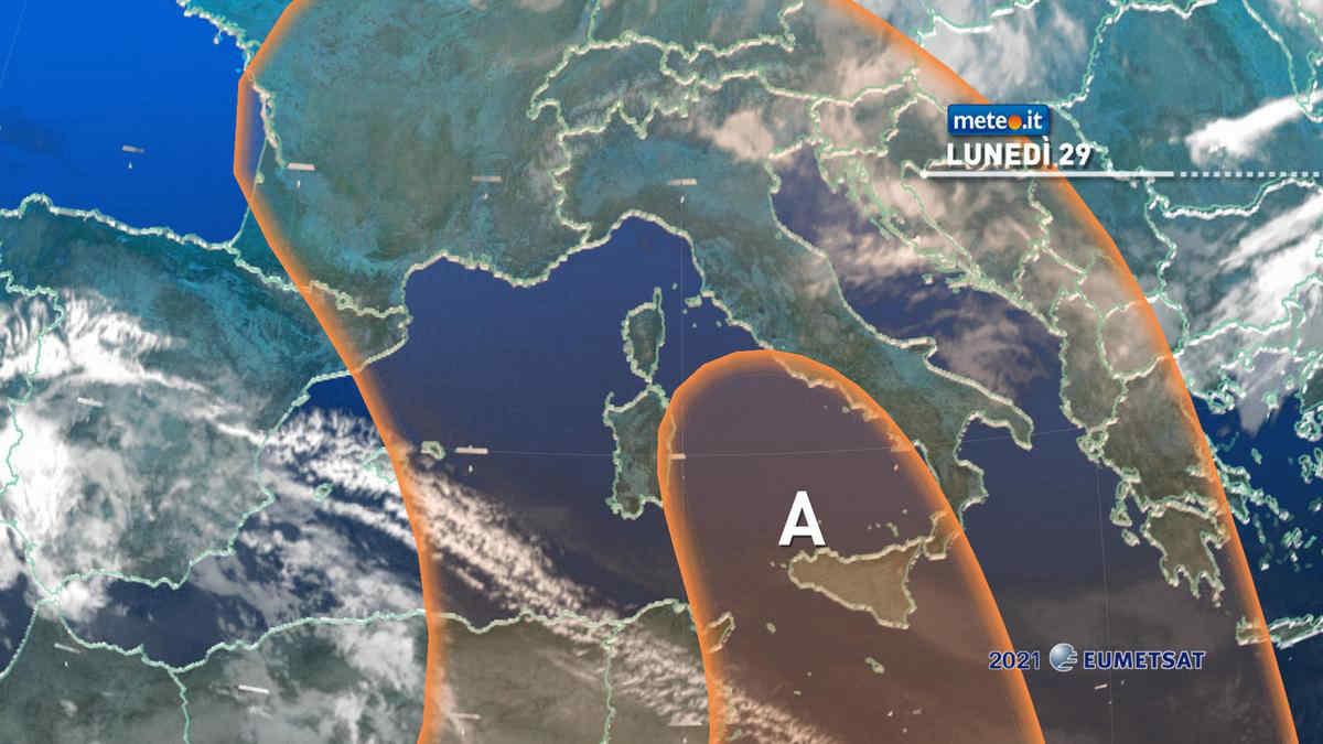 Meteo, dal 29 marzo torna l'Anticiclone Africano: punte oltre i 20 gradi