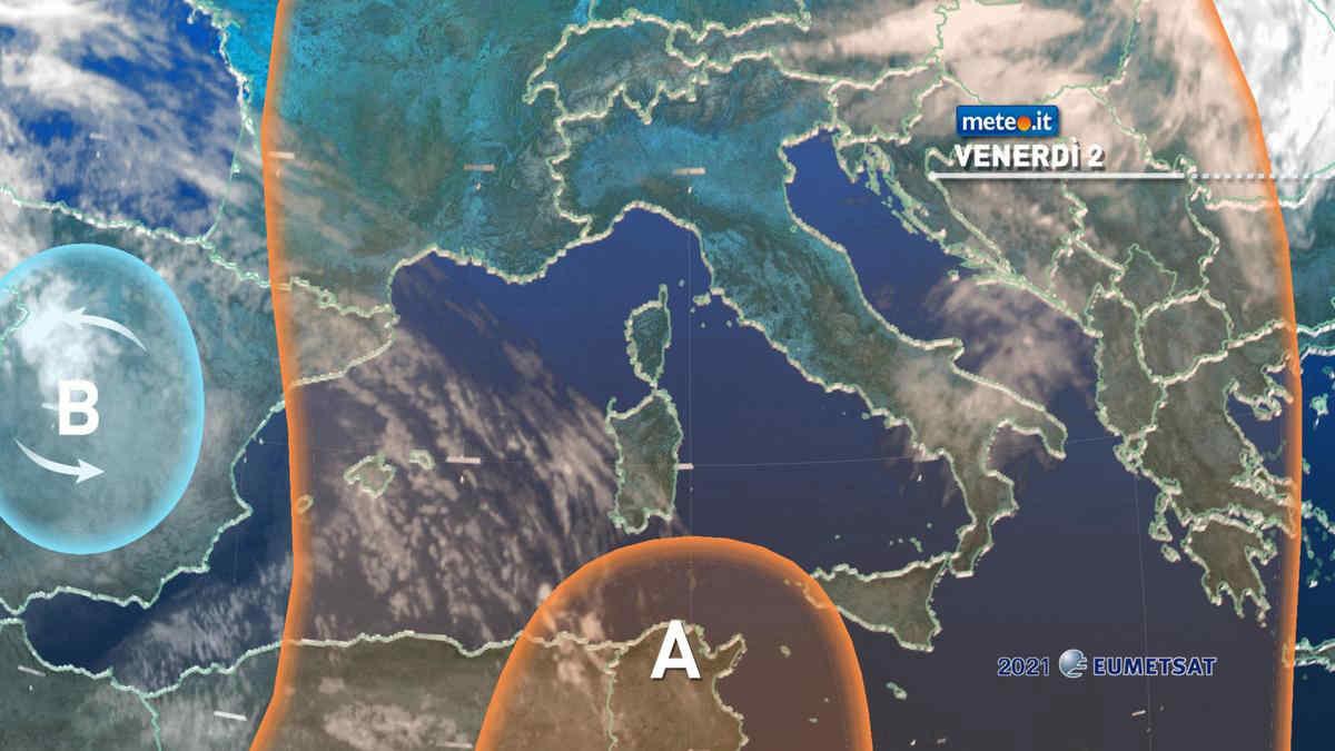 Meteo, 2 aprile stabile e caldo sull'Italia