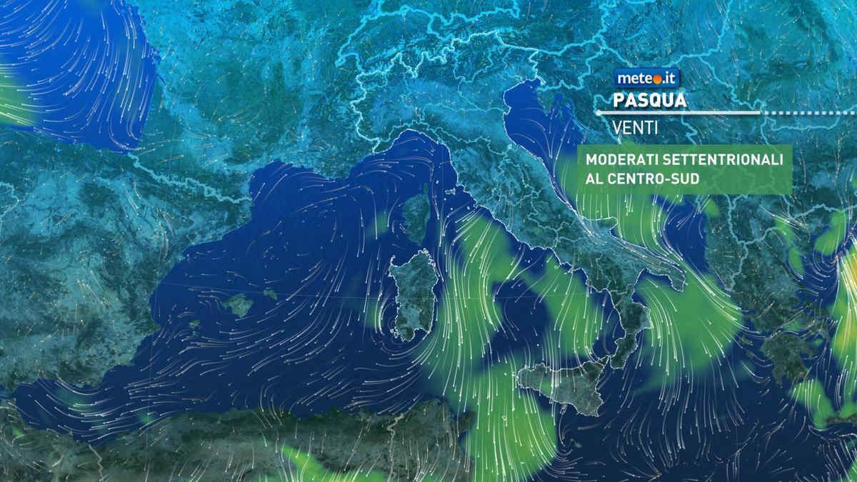 Meteo, Pasqua e Pasquetta 2021 con sole su quasi tutta l'Italia ma calo termico