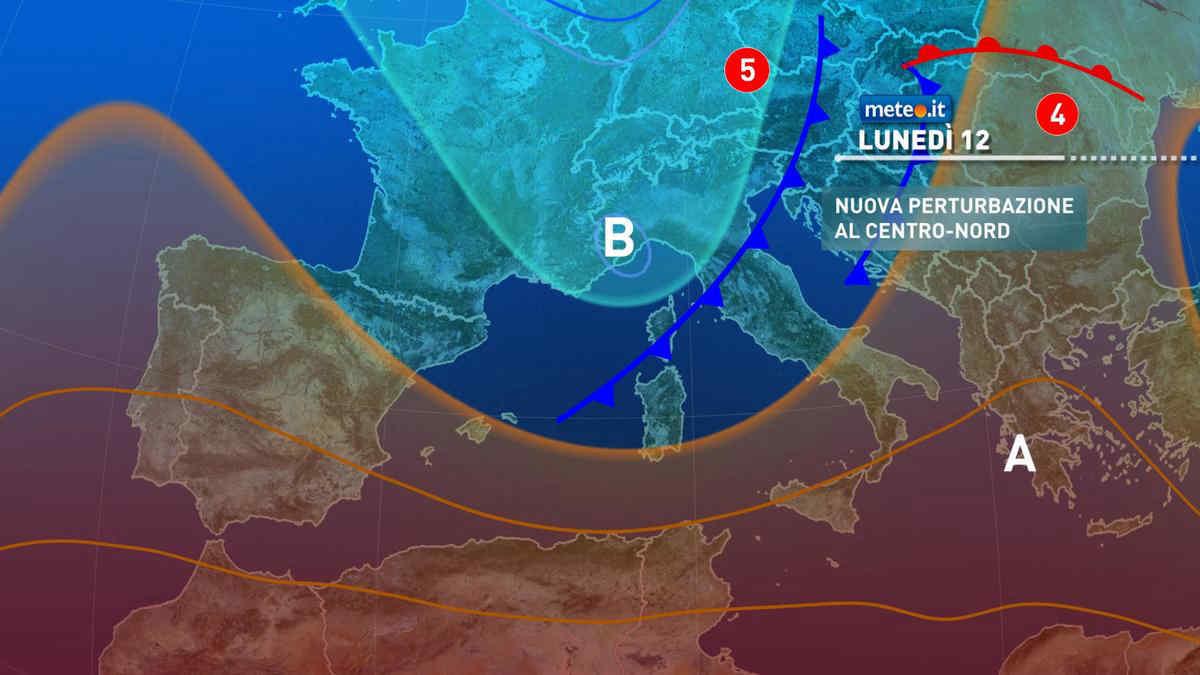 Meteo, settimana al via all'insegna del maltempo: attenzione al rischio nubifragi