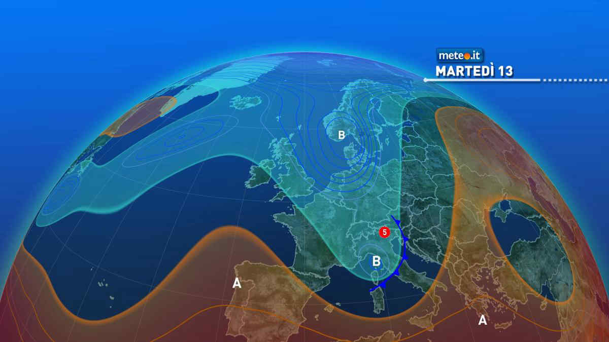 Meteo 13 aprile, il maltempo insiste su alcune regioni