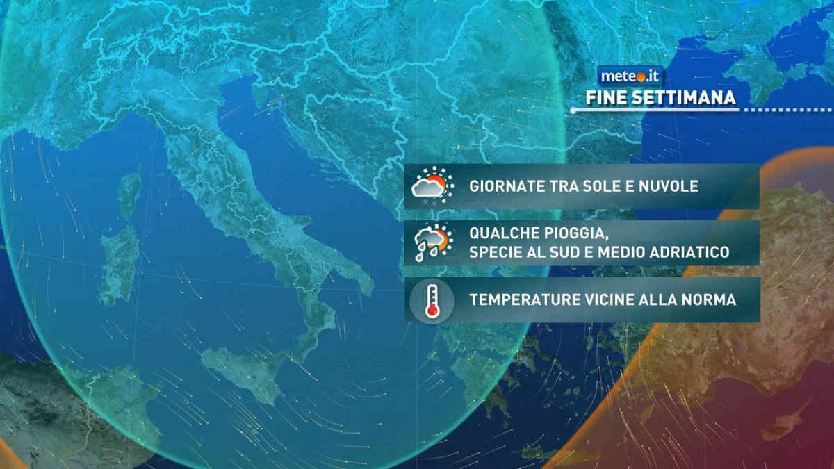 Meteo, nel weekend del 17-18 aprile rialzo delle temperature