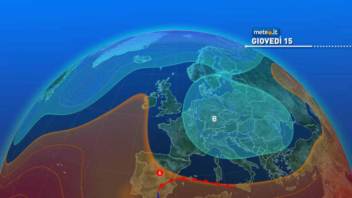 Meteo, giovedì 15 aprile molta variabilità e clima fresco