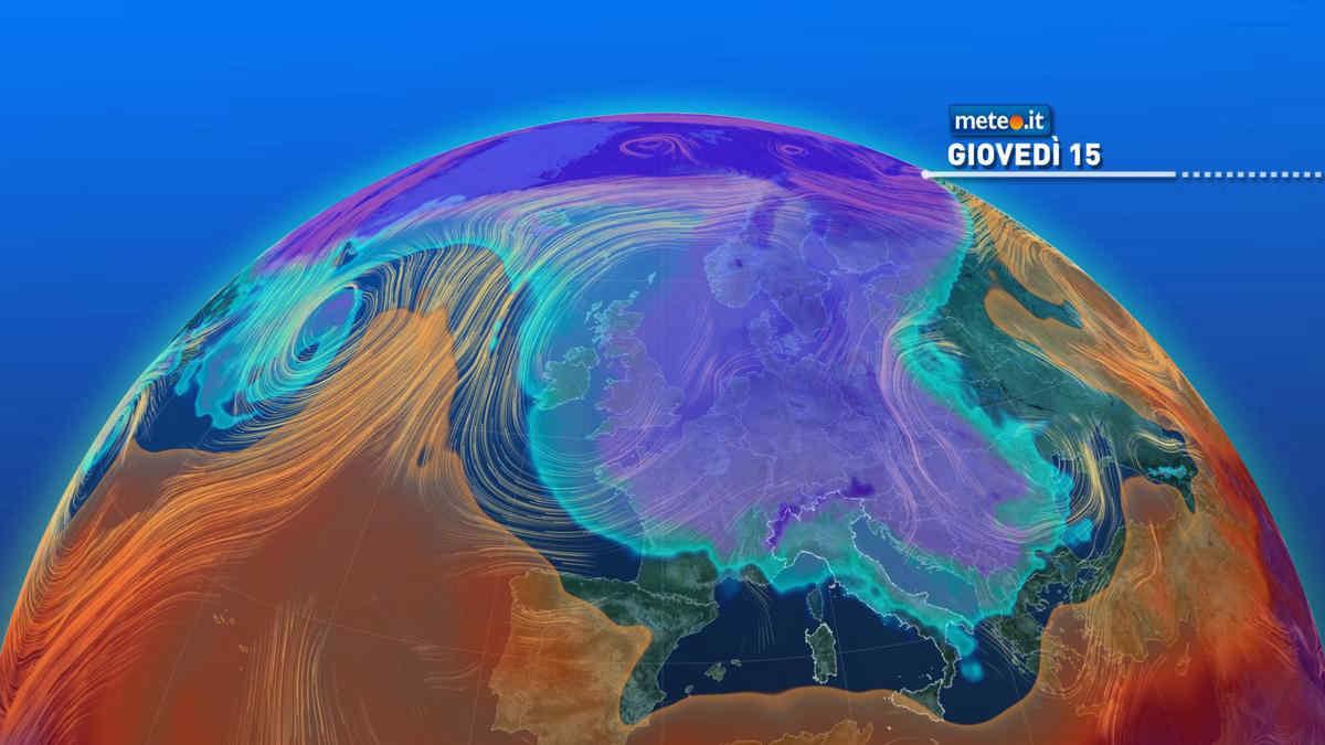 Meteo, 15 aprile con tempo variabile e temperature sotto le medie